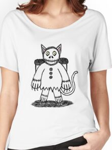 Skele Cat Women's Relaxed Fit T-Shirt