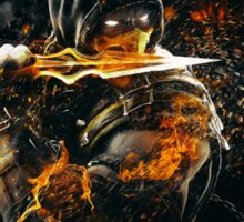 Mortal Kombat - Scorpion on Fire! Sticker