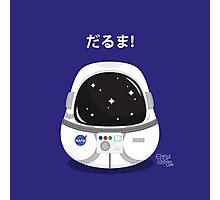 Daruma Astronaut Photographic Print