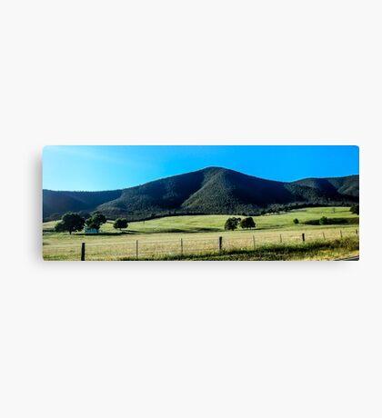 Australian Farm Landscape Canvas Print