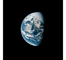 View of Earth taken from the Apollo 13 spacecraft. Photographic Print
