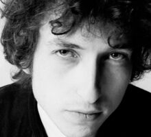 Bob Dylan 1966 Sticker
