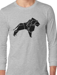 Origami Lion Long Sleeve T-Shirt
