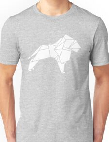 Origami Lion Unisex T-Shirt