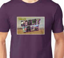 Welcome to Night Vale Postcard Unisex T-Shirt