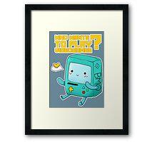 BMO adventure time - videogames Framed Print