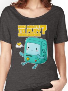 BMO adventure time - videogames Women's Relaxed Fit T-Shirt