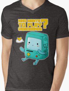 BMO adventure time - videogames Mens V-Neck T-Shirt