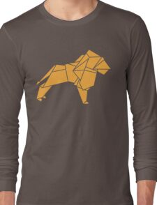 Origami Lion Long Sleeve T-Shirt