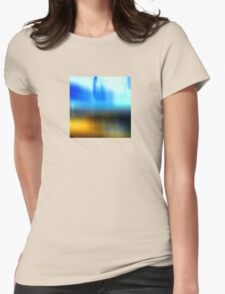 Remembering the Beach Womens Fitted T-Shirt