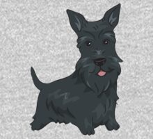 Funny Scottish Terrier Dogs Kids Clothes