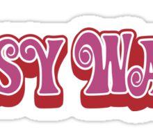 Pussy Wagon Variant Sticker