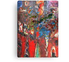 Thinking Basquiat Canvas Print