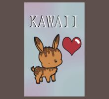 Kawaii Bunny One Piece - Short Sleeve