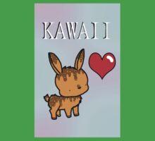 Kawaii Bunny One Piece - Short Sleeve
