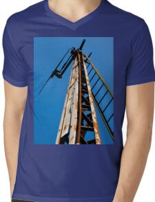 Signal Gantry Mens V-Neck T-Shirt