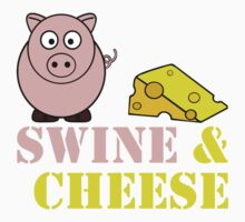 Swine and Cheese Kids Clothes