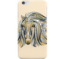 Colorful Tribal Horse iPhone Case/Skin