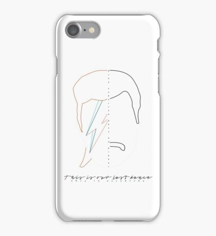 Bowie - Mercury iPhone Case/Skin