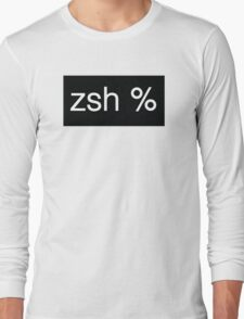 zsh logo 002 Long Sleeve T-Shirt