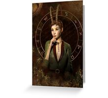 Capricorn Zodiac fantasy edition Greeting Card