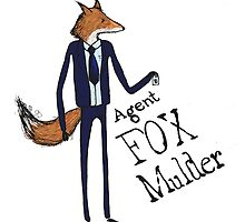 Agent Fox Mulder by Nosynonym