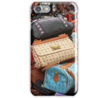 Designer Fashion Bags iPhone Case/Skin