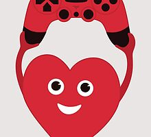 Gamer Heart by Boriana Giormova
