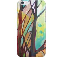 Girl climbing a tree iPhone Case/Skin