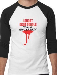I Shoot Dead People (1) Men's Baseball ¾ T-Shirt