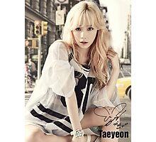 TAEYEON BG Photographic Print
