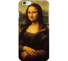 La Gioconda - Leonardo Da Vinci iPhone Case/Skin