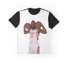 James Harden Houston Rockets NBA Graphic T-Shirt