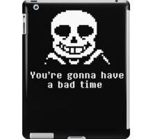 Undetale Bad Time iPad Case/Skin
