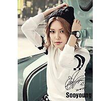 SOOYOUNG BG Photographic Print