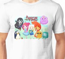 Adventure Time group chibi Unisex T-Shirt