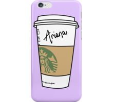 LATTE GRANDE : ARIANA iPhone Case/Skin