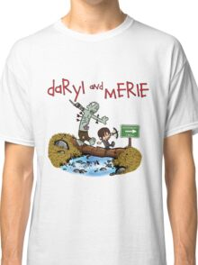 Daryl and Merle Dixon Calvin and Hobbes mash up Classic T-Shirt