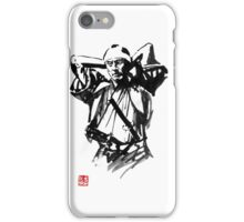 preparing samurai iPhone Case/Skin