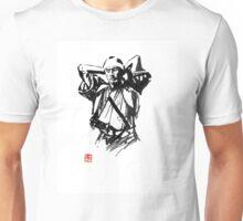 preparing samurai Unisex T-Shirt