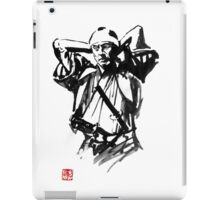 preparing samurai iPad Case/Skin