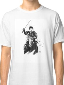 the last samurai riding Classic T-Shirt