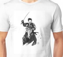 the last samurai riding Unisex T-Shirt