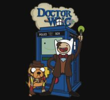 Dr Who Adventure Time Baby Tee