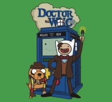Dr Who Adventure Time Kids Tee