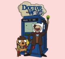 Dr Who Adventure Time One Piece - Long Sleeve