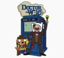 Dr Who Adventure Time One Piece - Short Sleeve