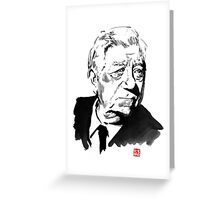 jean gabin Greeting Card