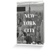 City Series (New York City) Greeting Card