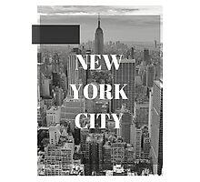 City Series (New York City) Photographic Print